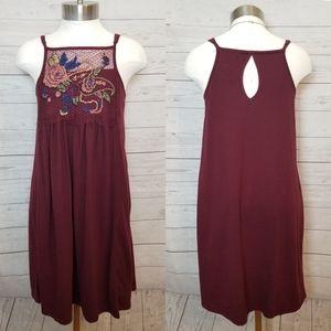 Alya Embroidery Dress